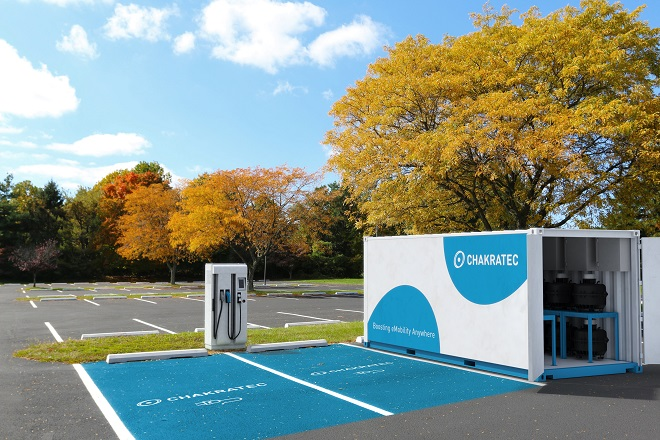 EV Charging for Property Owners from Chakratec